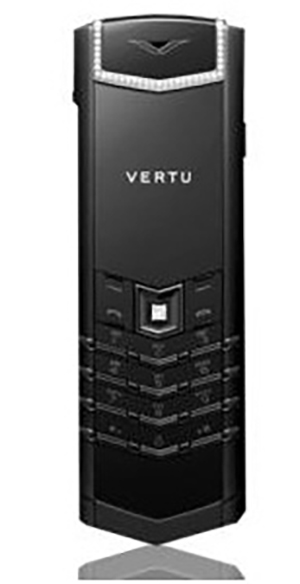 Vertu Signature S Design Black PVD Diamond Exclusive