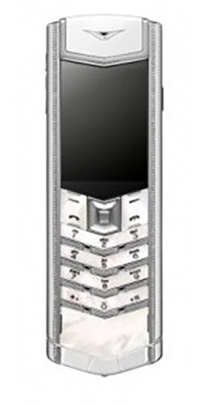 Vertu Signature S Design Ladies Mother Of Pearl Exclusive