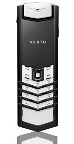Vertu Signature S Design Black and White Exclusive